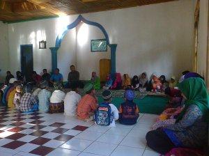 Kampanye Membaca di Mesjid Cikondang-Cisompet