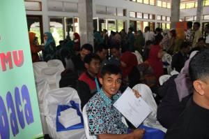 Tim Komunitas Ngejah Menjadi Peserta Safari Gerakan Membaca Perpusnas di Kabupaten Garut