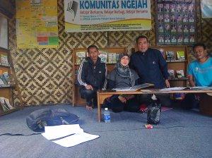 Foto Bersama Komunitas Ngejah