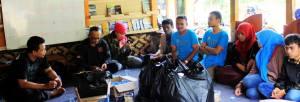 Dikusi bersama STMIK DCI di Saung Komunitas Ngejah