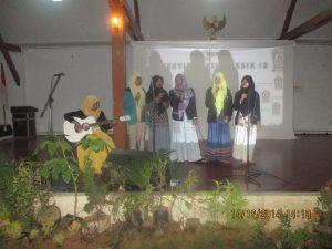 Penampilan Musikalisai Komunitas Ngejah di FFT #3 Rancage