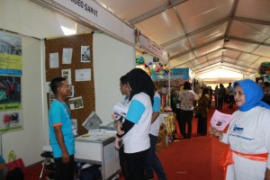 Kegiatan Stand Jakarta Library and Archives Expo 2014