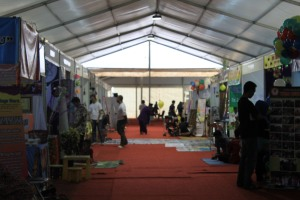 Suasana Jakarta Library and Archives Expo 2014