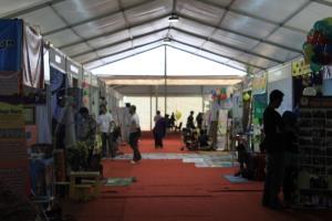 Suasana Jakarta Library and Archives Expo 2014