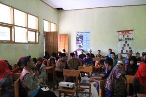 Sambutan Hangat dari Masyarakat Cinangsi pada Kegiatan Gerakan Kampung Membaca