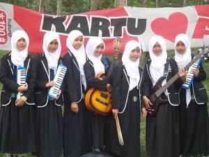 VoB setelah penampilan di acara Music For Friendship Festival pelajar se Kab Garut