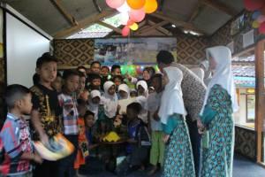 Nasi Tumpeng pada Acara Milad Komunitas Ngejah ke-5