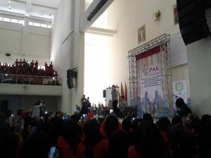 Irfan Hakim pada Kegiatan OPAK UIN Bandung