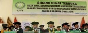 Sidang Senat Terbuka UIN SGD Bandung
